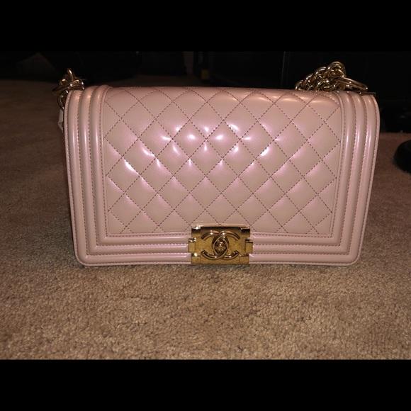 CHANEL Handbags - 100% Authentic Medium Chanel Boy bag. FIRM PRICE!!